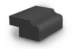 Кромка FS 40 с радиусом скругления 10 + 10 мм