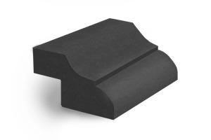 Кромка O 40 с радиусом скругления 13 мм + ступенька